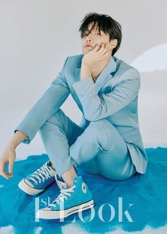 ladystardust (Cho Seungyoun Look Magazine Rapper, Love Me Harder, Look Magazine, Fandom, My Pool, Hanbin, Profile Photo, Btob, The Wiz
