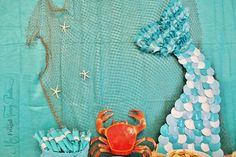 Mermaid Party Mermaid Tail Under the Sea Birthday Party Decorations   missfrugalfancypants.com