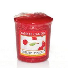 Yankee Candle Votive Sampler - Cherries on Snow