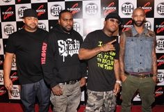 Rappers Joell Ortiz, Crooked I, Royce da 5'9'' and Joe Budden ... #Slaughterhouse