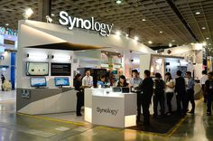Synology has a large booth here in COMPUTEX 2014!