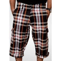 1417a1a0279 Black Checkered Men s Cotton Six Pockets Short Rs 749  KAYMUPKFOW   Towhidasultana8thDec Shorts With Pockets