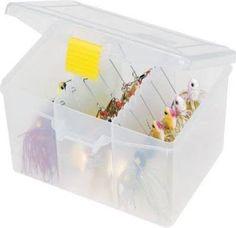 Plano Stowaway Spinner Bait Box - http://bassfishingmaniacs.com/?product=plano-stowaway-spinner-bait-box