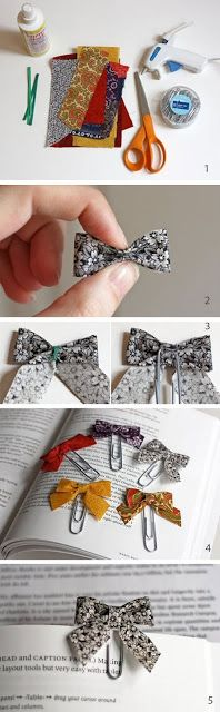 more than Chic: DIY:Marcapáginas... so sweet!!