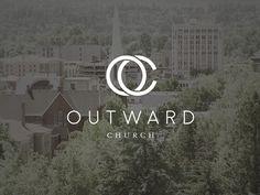 Outward Church Brand Treatment
