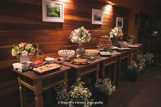 Mesa de casamento simples e linda
