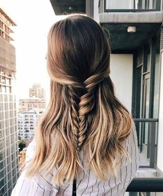 Cutest Ever Half Braided Hairstyles for Women