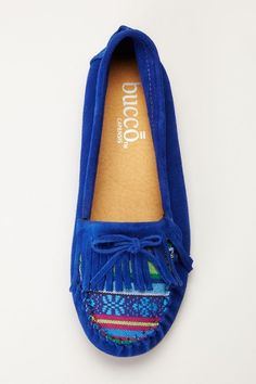 Bucco Ornora Moccasin Flat on HauteLook  I like them but I'm not entirely sure I'd wear them in blue