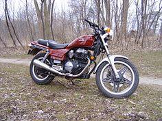 1982 Honda CB450SC Nighthawk