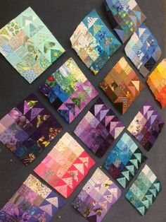 Quilting is more fun than Housework...: Oh Scrap! : A  Day with Scraps. Samples of Geese Migration blocks.