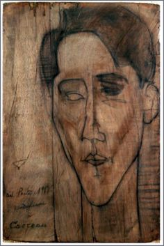 Sketch of Jean Cocteau (1919), by Amadeo Mogdiliani