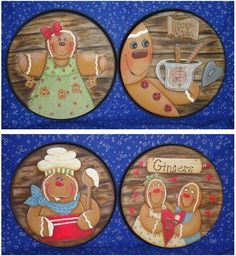 Painting Patterns, Craft Patterns, Gingerbread Man Crafts, Stove Burner Covers, Christmas Candy, Christmas Ornaments, Shabby Chic Kitchen, Black Lamps, Pattern Design