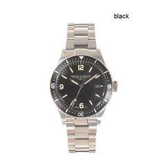 ジェイクルー Mougin & Piquard Oceanique watch (モージュー アンド ピーカール ウオッチ)/色:black - 欧米ファッション専門店---SPORTIVO(スポルティボ) ---