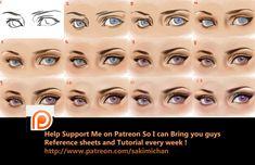 Eyes Step by step tutorial