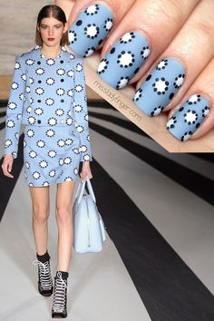 Matthew Williamson Fall '14 #nail #nails #nailart
