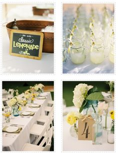 Love this for summer weddings.