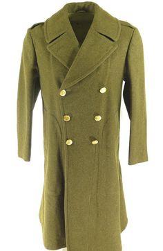 Vintage 40er Jahre des zweiten Weltkriegs Wolle militärische