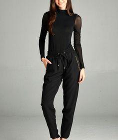WOMENS JOGGERS Track Pants W/ ELASTIC
