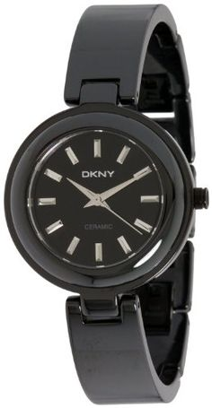 Upgrade to style and sophistication with this elegant DKNY watch. Boasting  a stunning ceramic case matched with a secure ceramic band 11f730dbcd
