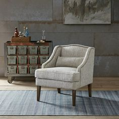 Kentland Swoop Arm Accent Chair #birchlane