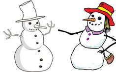 SnowMen or SnowWomen - What will arrive in the Green Lanes area for our Snowman Trail?