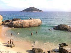 Um dia pelas praias selvagens do Rio de Janeiro