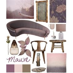 Mauve by ladomna on Polyvore featuring interior, interiors, interior design, home, home decor, interior decorating, &Tradition, Jamie Young, Jayson Home and iittala