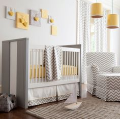 Szary pokoik dziecięcy/ Grey nursery