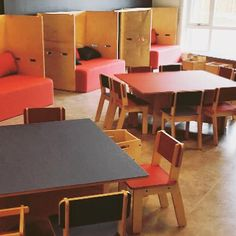 Kvalatre International Fus Kindergarten in Haugesund, Norway. Modern Childrens Furniture, House Drawing, Future Classroom, Ping Pong Table, Scandinavian Design, Traditional, Norway, Kindergarten, Inspiration