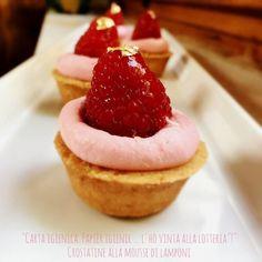CROSTATINE ALLA MOUSSE DI LAMPONI - il profumo dell'acqua blog Cheesecake, Desserts, Blog, Tailgate Desserts, Deserts, Cheesecakes, Postres, Blogging, Dessert
