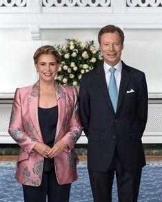 Luxembourg, Royal Fashion, Fashion Looks, Princess Stephanie, Casa Real, Grand Duke, Royal House, Alexander Mcqueen, Blazer