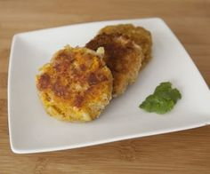 Sweet Potato and Chicken Fritters // hmm gonna substitute leftover turkey