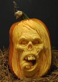 3D Pumpkin Sculpture