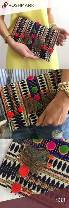 Colorful clutch Colorful clutch Bags Clutches & Wristlets