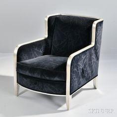 Interior Crafts Art Deco-style Club Chair.   Auction 2912M   Lot 146   Estimate $500 - $700