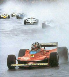 Gilles !! 312T4 leading & WINNING ! @The Glen USGP 1979!