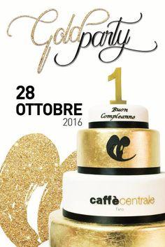 Al Caffè Centrale la festa è tutta d'oro. A un anno dall'inaugurazione venerdì arriva il Gold Party, Sarà un compleanno 'dorato' quello che il Caffè Centrale di Fano si appresta a festeggiare venerdì 28 ottobre 2016 nel corso del Gold Party. A un anno dall