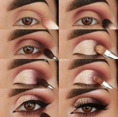 ♡Make ♡Maquiagem ♡Inspiração de Make ♡Make de reveillon  #de #Eyemakeuptutorial #inspiração #Maquiagem #reveillon