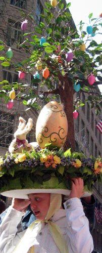 Easter Parade and Easter Bonnet Festival: Easter Egg Tree Easter Bonnet