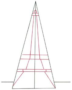 torre eiffel desenho passo a passo - Pesquisa Google
