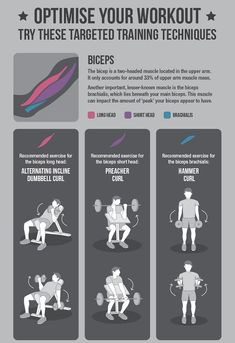 Infographic: The 'Best' Exercises For Your Arms And Legs - DesignTAXI.com