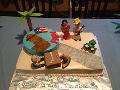Puerto Rican Theme Party! Puerto Rico, 70th Birthday Parties, Puerto Rican Recipes, Diy Cake, Party Treats, Themed Cakes, Amazing Cakes, Margarita, Sweets