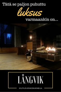 Finally we found a perfect weekend getaway destination in Finland! Welcome to Långvik – a relaxing spa hotel near Helsinki! Spa Weekend, Weekend Getaways, All Talk, Responsible Travel, Live In The Now, Hotel Spa, Countries Of The World, Finland, Mystery
