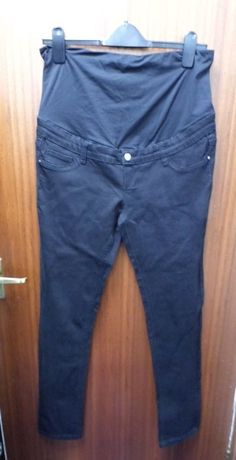 a38732e2cfff1 FOREVER FIT / REFORM JEANS Skinny Maternity Jeans Size 12 Black (New No Tag)