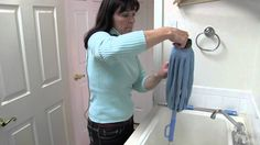 """Super Absorbent Microfiber Twist Mop with hands-free wringing.You won't believe how much liquid it can hold! Just dunk it in your bucket and twist the handle to wring it out. Your hands never touch the mop head or the dirty water. Mop using a large """"S"""" motion. When one side gets dirty, just flip it over and keep mopping.Features a Microfiber scrubbing ring at the bottom tip of the mop so when you come across a tough spot, it will take it right off. clean Mop head by washingMachine"""
