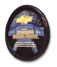 Chevy Vortec Style Steering Wheel Cover - https://musclecarheaven.net/?product=chevy-vortec-style-steering-wheel-cover