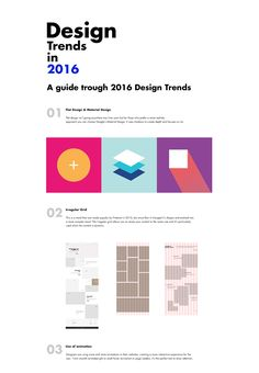 2016 Design Trends Guide on Behance