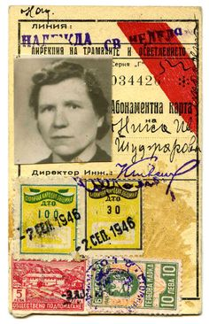 identity, Bulgaria 1946