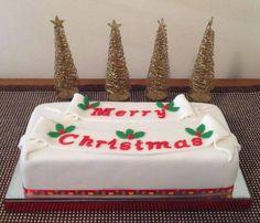 Christmas Cake for my MIL 2014