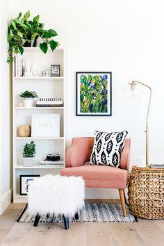 23 ideas home interior design living room boho Home Interior Design, Interior Decorating, Decorating Ideas, Corner Decorating, Interior Ideas, Decorating Websites, Kitchen Interior, Luxury Interior, Classic Interior